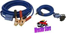Jumper Booster Cables for wrecker, tow truck, AAA road service, Jump Start
