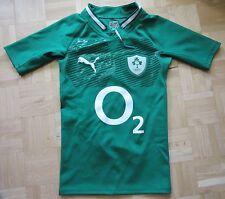 IRELAND RUGBY IRFU 2011-13 shirt MATCH Player Issue SLIM PUMA IRISH adult SIZE S