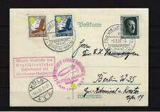 P259) Zeppelin Karte 1937 Ausfall Deutschlandfahrt - Abwurf Nordamerikafahrt