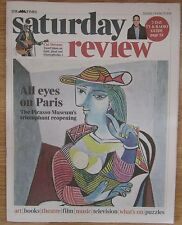 The Picasso Museum in Paris – Times Saturday Review – 25 October 2014