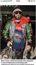 Gucci Metalic leather Bomber