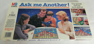 Vintage Ask Me Another! Board Game from MB Games. Complete, 1983