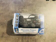 Manette pour console PS2 dualshock - Under control Noir - Dualshock PS2