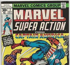 CAPTAIN AMERICA #102 Reprinted in MARVEL SUPER ACTION #3 from Sept.1977 in Fine+
