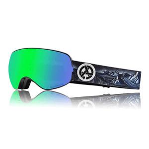 Dragon X2s - Asymbol Brian Iguchi w/ Lumalens Green Ion + Rose Snowboard/Ski NEW