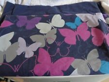 Double Duvet Cover Navy Butterfly