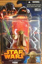 Star Wars Saga Legends YODA Revenge of the Sith Figure Hasbro SL07 NEW