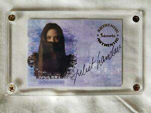 Buff the Vampire Slayer Trading Card – Autographed – Juliet Landau