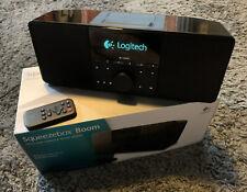 ✅ Logitech Squeezebox Boom ✅  Network Music Player Wi-Fi Internet Radio