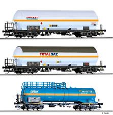 HS  Tillig 501358 3tlg. Kesselwagen-Set  unterschiedliche Bahnverwaltungen
