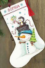 Dimensions Needlecrafts Jolly Trio Stocking Counted Cross Stitch Kit