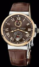 Ulysse Nardin Marine Chronometer Manufacture 43mm 18k Rose & Steel 1185-126/45
