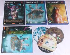 3 Spitzen KINDER Spiele für Playstation 2 z.B. KOMPASS; NARNIA; HERDY GERDY