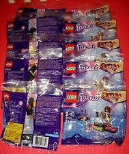 LEGO 30205 FRIENDS Andrea POP STAR MINI FIGURE poly bag LOT of 10 birthday party