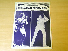 The Cilla Black - PJ Proby Show/1965 Tour Programme