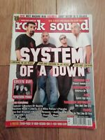 ROCK SOUND MAGAZINE ( 31 ) DECEMBER 2001 SYSTEM OF A DOWN GREEN DAY CYPRESS HILL