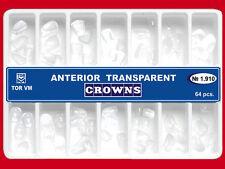 Dental Transparent Crown Anterior 64 pcs Matrices Matrix TOR vm original 1.910