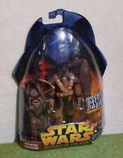 STAR WARS CARDED REVENGE OF THE SITH WOOKIEE WARRIOR WOOKIEE BATTLE BASH