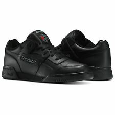 Reebok Classic Workout Plus 2760 Black Leather Trainers 11