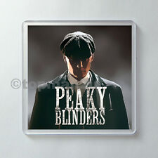 New Quality Acrylic Drinks Coaster, PEAKY BLINDERS, Cillian Murphy, Tommy Shelby
