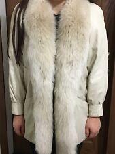 Fur Coat Fox & Lambskin A REALLY COOL COAT!