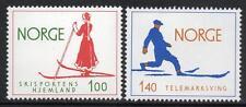 La norvège neuf sans charnière 1975 ski