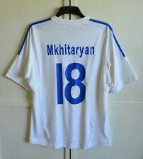 RARE! ARMENIA NATIONAL TEAM #18 MKHITARYAN AWAY FOOTBALL SHIRT JERSEY SIZE XL