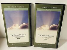 The Great Courses, The Book of Genesis, Parts 1-2, DVD Teaching Company