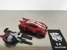 Transformers Fall Of Cybertron Sideswipe DLX Class 100% Complete