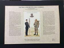 Regimental ,Histories and Traditions  Mounted Prints Gurkha Regiments