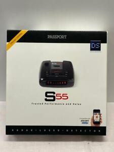 Escort PASSPORT S55 Radar LASER DETECTOR black