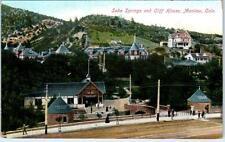 MANITOU, Colorado  CO    SODA SPRINGS and Cliff House   c1910s   Postcard