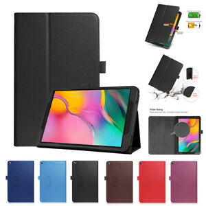 Slim PU Leather Flip Case Cover For Samsung Galaxy Tab A SM-T510 T515 10.1 Inch