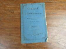 LALANNE / CYRILLE LE TRIOMPHE DU CHRISTIANISME DANS LES GAULES Edition 1855 RARE