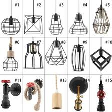 Pendant Light Lamp Vintage Retro Industrial Ceiling Lighting Hanging Chandelier