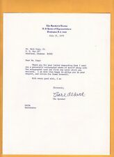 Carl Albert-signed letter-17  b