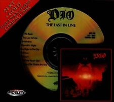 SEALED AUDIO FIDELITY 24KT GOLD CD - The Last in Line - DIO -NUMBER # LIMITED ED