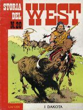 STORIA DEL WEST N° 20 - FEBBRAIO 1986 - BONELLI - CONDIZIONI OTTIME