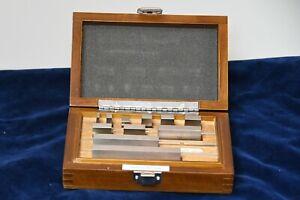New 11 piece Gauge Block Set Metric RS11MC1