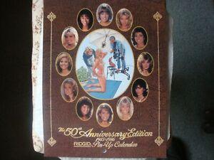 "Vintage 1985-1986 Ridgid Tool Pin-Up 50th ""NEW""Anniversary Calendar"