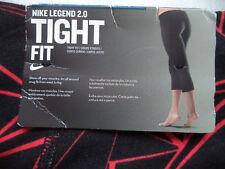 Womens NIKE Legend 2.0 fitness Capris Sz S workout yoga gym running hiking NWT