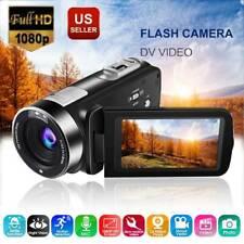 DV Video Camera Camcorder 1080P 16X ZOOM 3.0 Inch Screen Digital Camera HDV USA