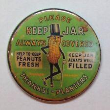 """Planters Peanut Man Vintage Style Fridge Magnet 2 1/4"""""""