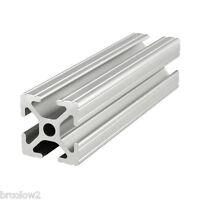 "80/20 Inc. - T Slot 1"" x 1"" Aluminum Extrusion 10 Series - Part #1010 - 10"" Long"