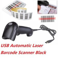 Escáner de código de barras láser portátil USB Lector De Código De Barras Escáner de mano pos PC Unido largo