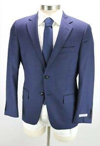 NWT $1595 HICKEY FREEMAN Wool Suit 38 S Milburn II Tonal Blue Check Classic Fit