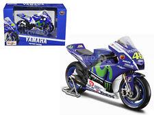 YAMAHA YZR-M #46 2015 GP VALENTINO ROSSI 1/18 MOTORCYCLE MODEL MAISTO 34589 VR