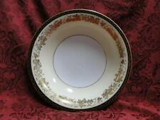 Noritake Bordeaux, 5496, Gold Grapes, Black Band: Coupe Soup Bowl (s), 7 3/8""