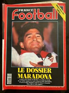 France Football 6/10/1992; Le dossier Maradona/ Naples-PSg