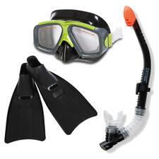 Schnorchelset INTEX Tauchset Surf Rider Taucherbrille + Schnorchel + Flossen